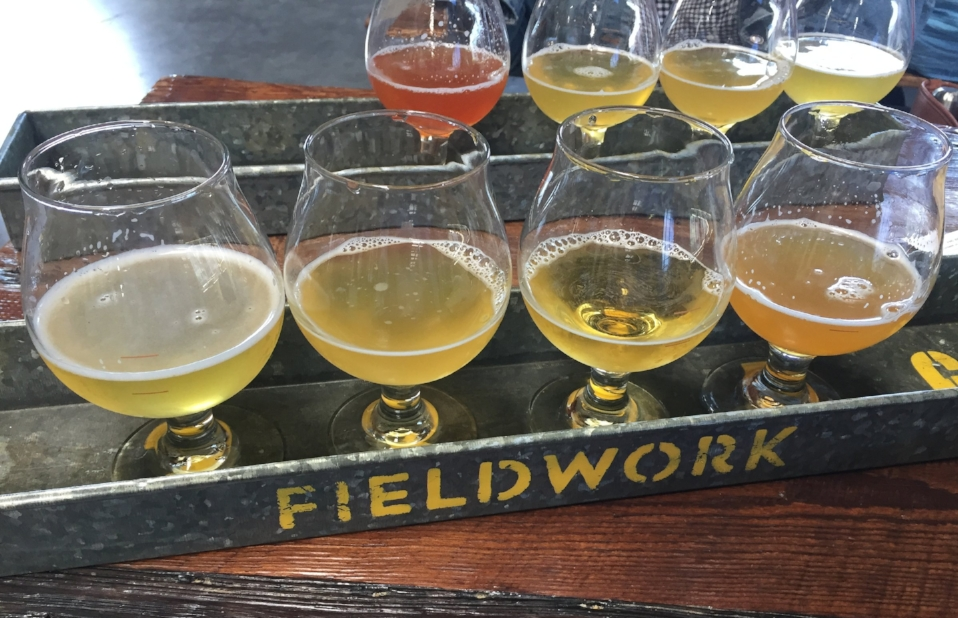 Flights at Fieldwork Brewing Company