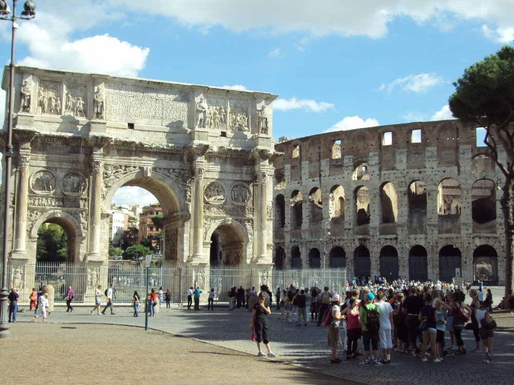 Rome, Italy - a city on the verge of overtourism.