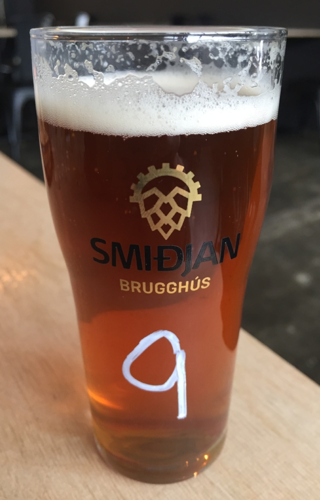 smidjan craft beer in iceland
