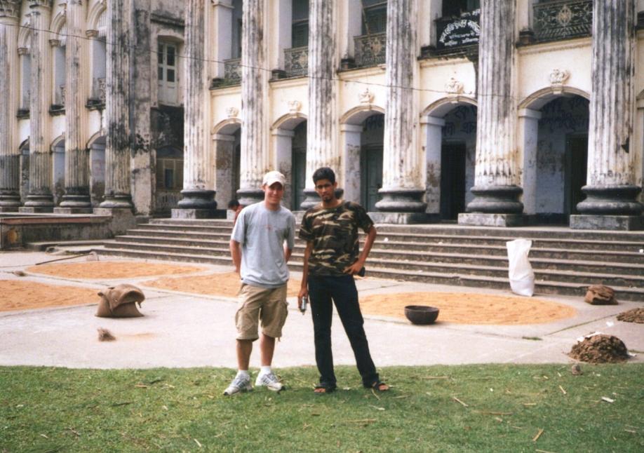Riyad and me at Baliati Palace
