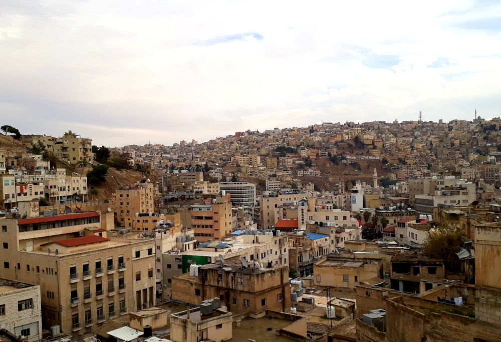 Two of Amman's 19 hills