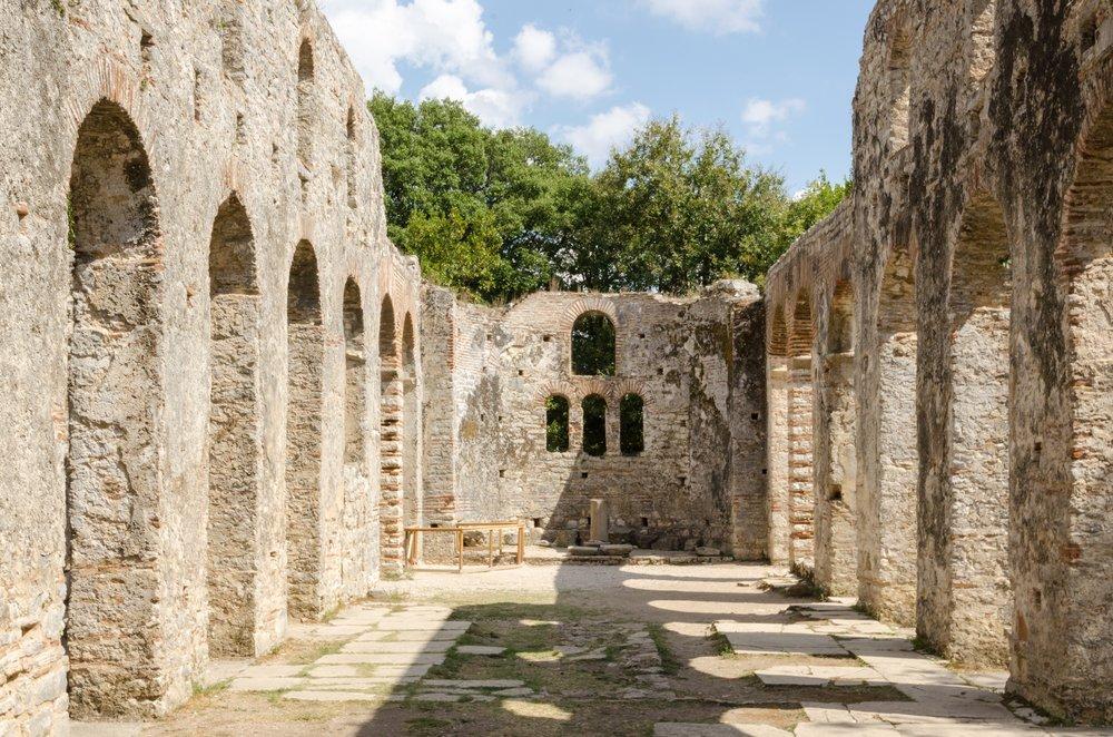 historic sites in albania