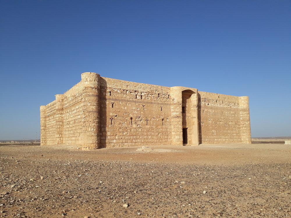 Impressive both in size and preservation kharanah castle jordan