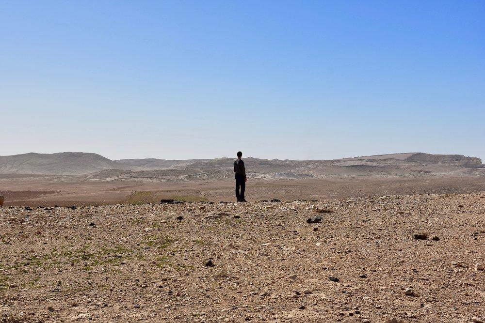 Jordan's vast eastern desert
