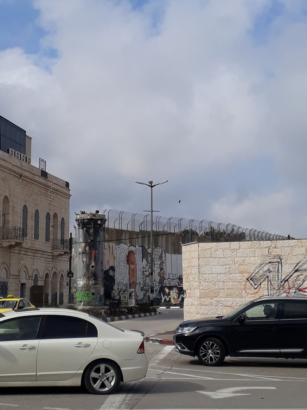 The walls and towers of Bethlehem