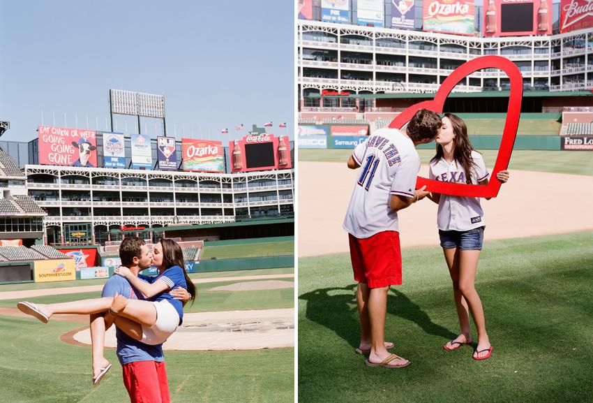 Texas.Rangers.Engagement.Photographer