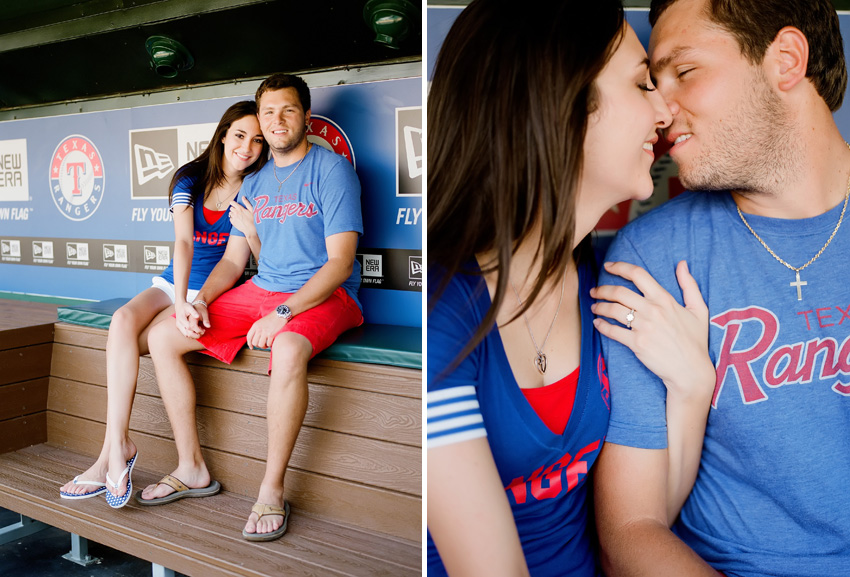 Texas.Rangers.Engagement.Photography