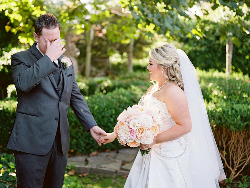 First Look Fine Art Film Wedding Photography