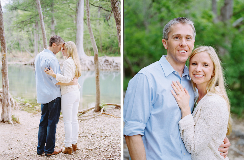 Guadalupe River - New Braunfels Texas Engagement Photography - Krystle Akin