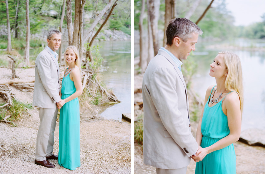 Gruene Texas Engagement Photography - by Krystle Akin
