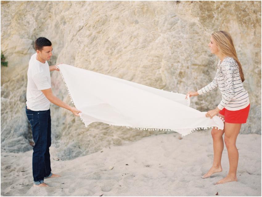 Malibu California Engagement Photography - Krystle Akin - Fine Art Wedding Photography