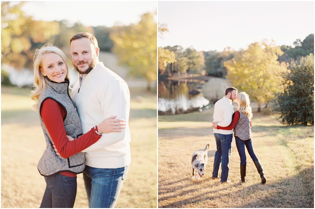 Texas Fine Art Film Engagement Photography