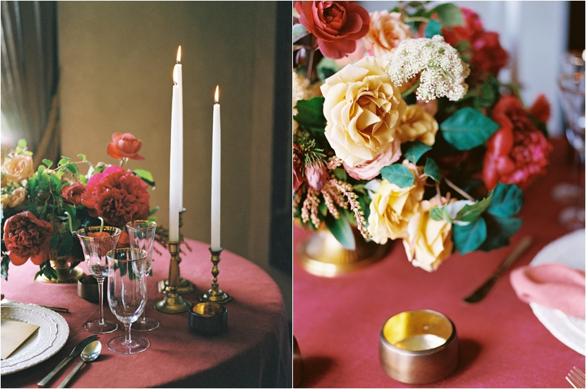 Styled by The Nouveau Romantics at Ma Maison in Dripping Springs  - By Krystle Akin - Fine Art Film Wedding Photographer