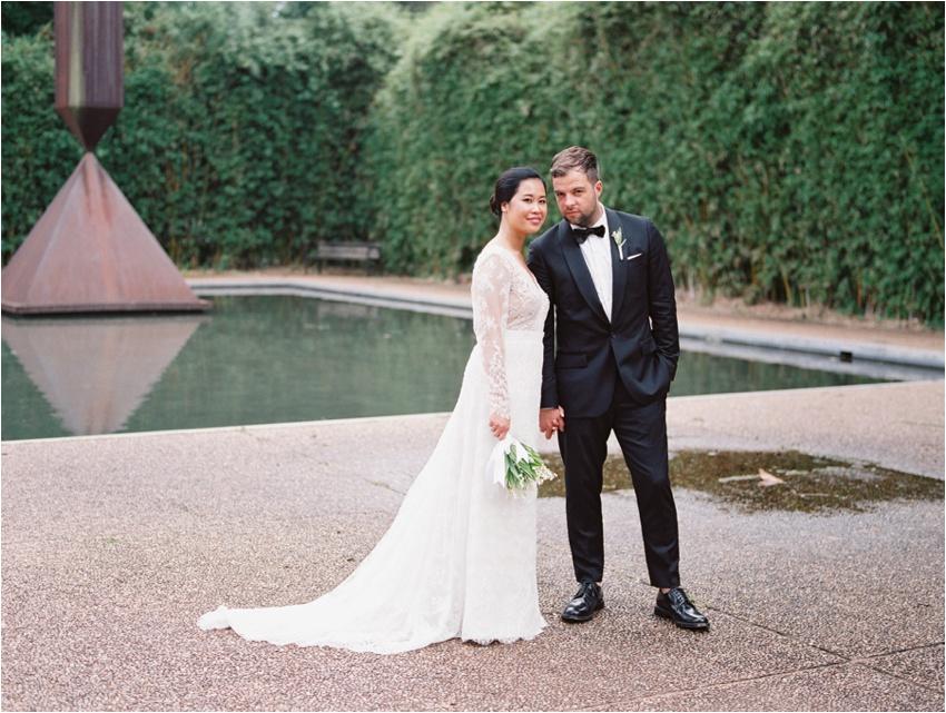 Rothko Chapel Houston Texas Wedding Photography - by Krystle Akin - A Fine Film Art Wedding Photographer