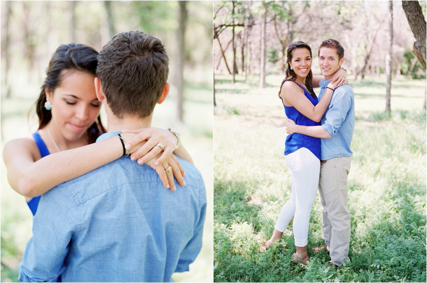 Cedar Hill State Park Engagement Photography - by Krystle Akin