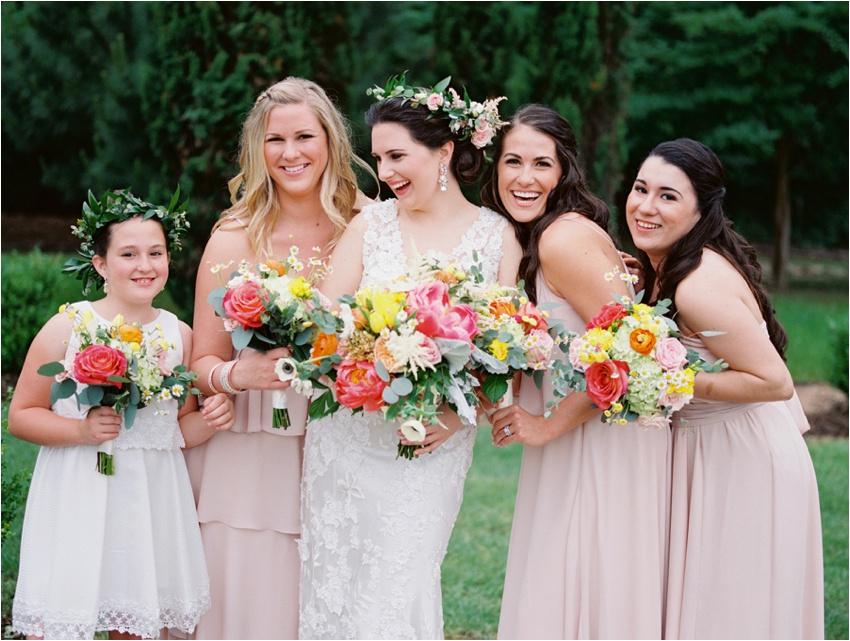 La Tee Da Flowers in Tyler Texas - by Krystle Akin - A Fine Art Film Wedding Photographer