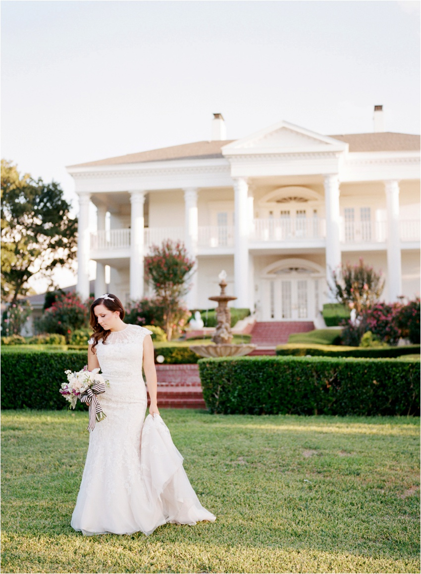 Lone Star Mansion Burleson Texas Bridal Photography - by Krystle Akin