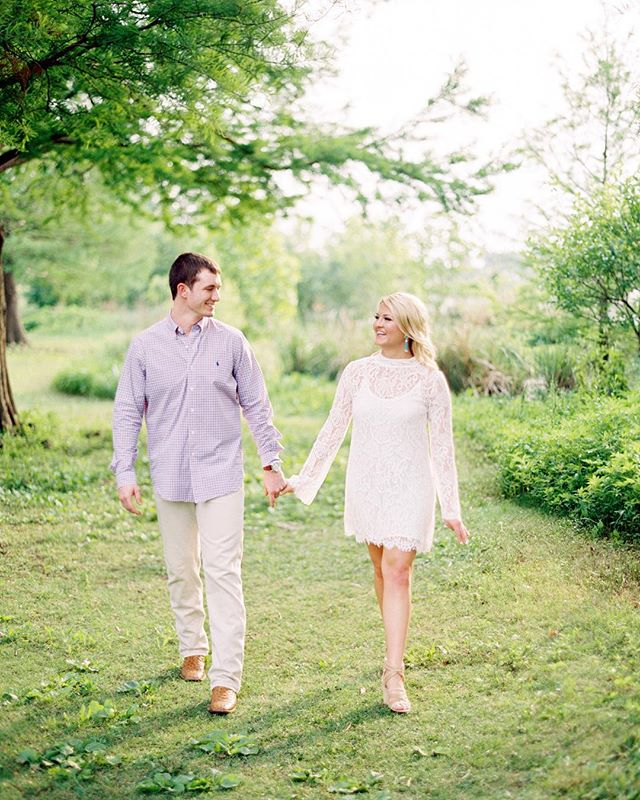 A favorite from this sweet engagement at White Rock Lake. ⛵️