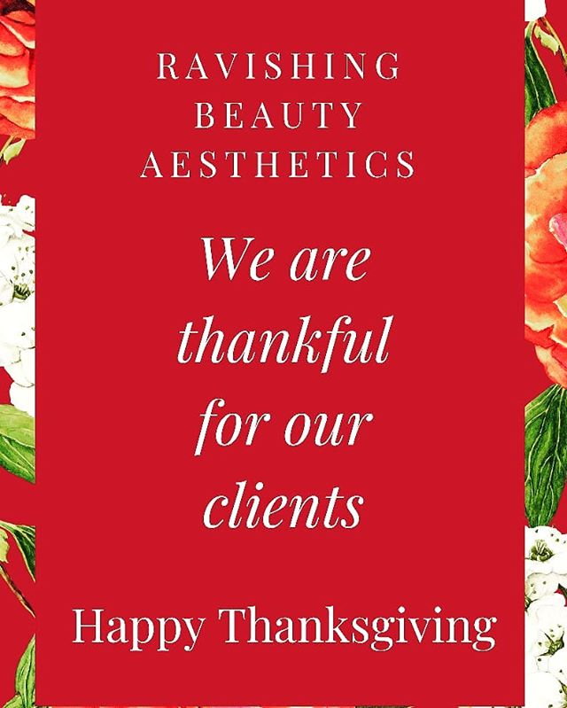 As Thanksgiving day comes to a close we reflect on how thankful we are to have amazing clients. We appreciate your loyalty and commitment to being an essiential part of our growth as a business. We thank you for being part of our family. Happy Thanksgiving from our family to yours. #rbaspa #happythanksgiving #riverside #jacksonville