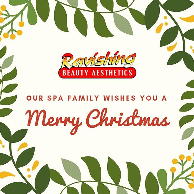 Wishing you a Merry Christmas from the Ravishing Beauty Aesthetics Family! We hope that your day has been merry and bright 🎄♥️ #rbaspa #merrychristmas #spa #riversidejax #jacksonville
