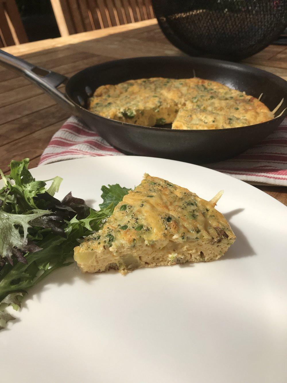 vegetable-frittata-recipe