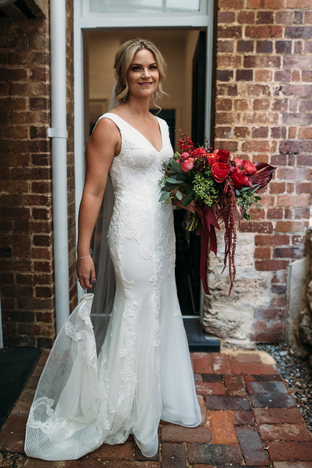Bride: Teghan | Gown: Bespoke Couture Gown | Photographer: Peggy Sass