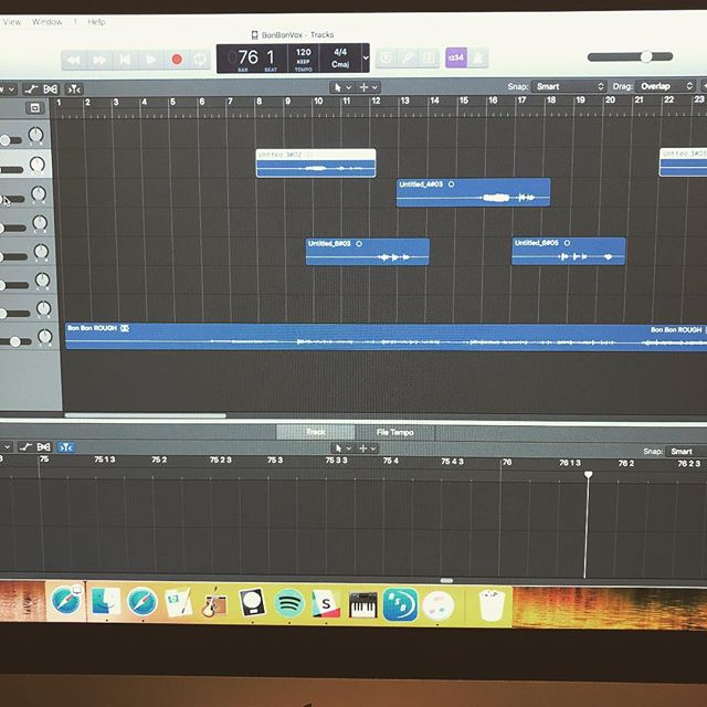 Excited to be demoing some new tracks #elameripractice #diy #logicprox #newsongs #wearestillaband