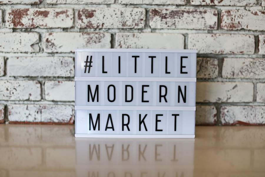 Photo courtesy of Little Modern Market by  Lindsay Skeans Photography