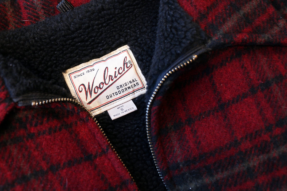 A highly sought after wool brand, Woolrich.