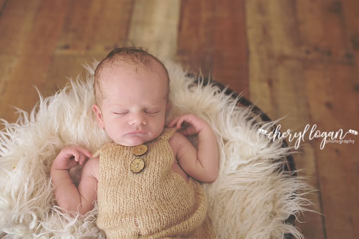 Organic Newborn Session