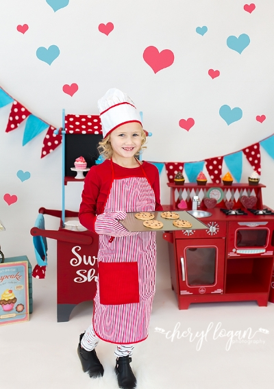 Sweet Shop Valentine Session | Cheryl Logan Photography