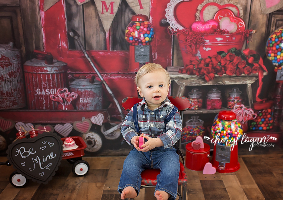Valentine Mini for Boys | Cheryl Logan Photography