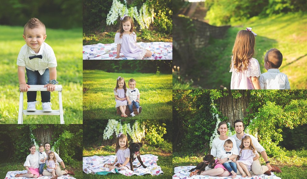 Cheryl Logan Photography Spring Family Images
