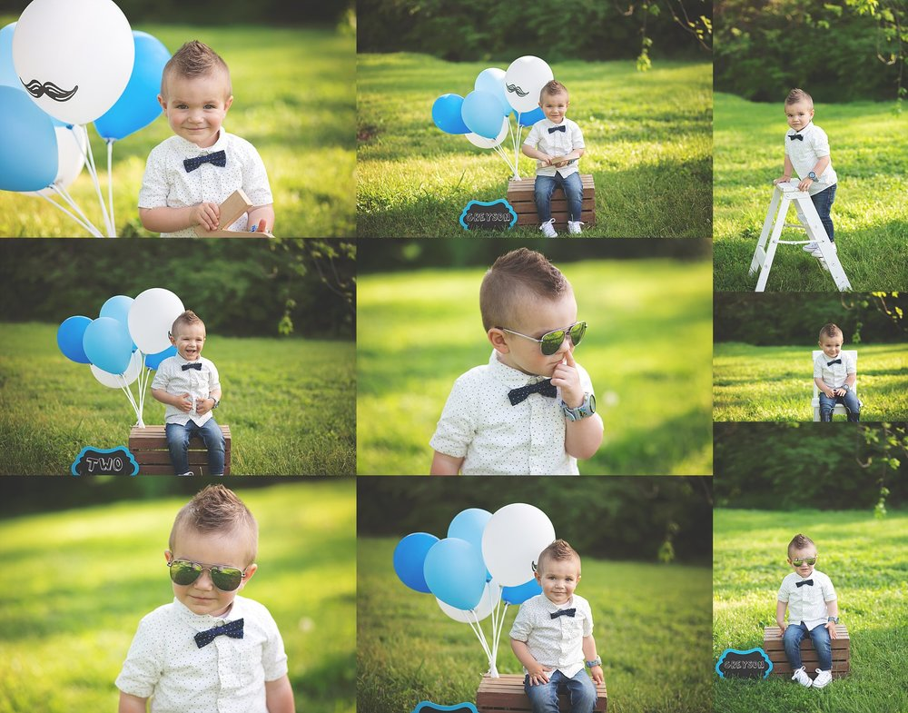 Second Birthday Portraits- Toddler Cheryl Logan Photography