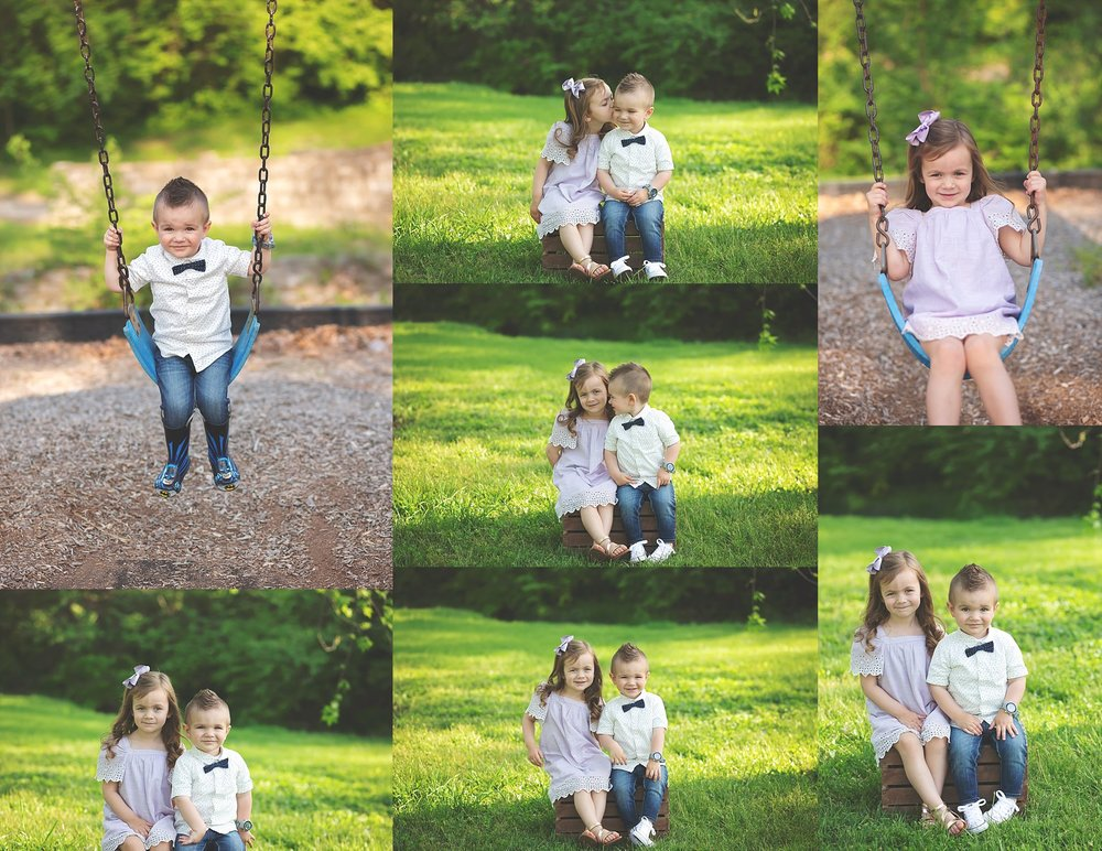 Brother and Sister Portraits Cheryl Logan Photography