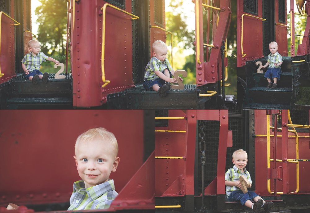 Train Portraits with Cheryl Logan Photography