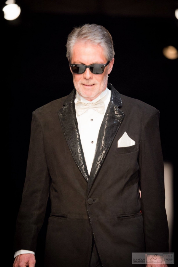 Celebrity guest model: Hamilton Mayor, Fred Eisenberger - GLAMOUR IN THE HAMMER