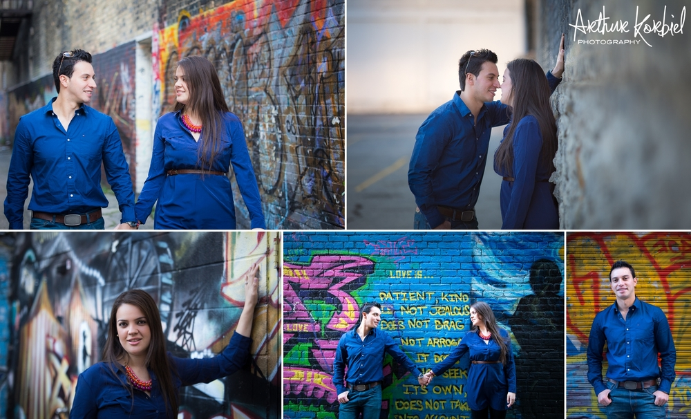 Arthur Korbiel Photography - London Engagement Photographer - Downtown London - Maria & Jose_002.jpg