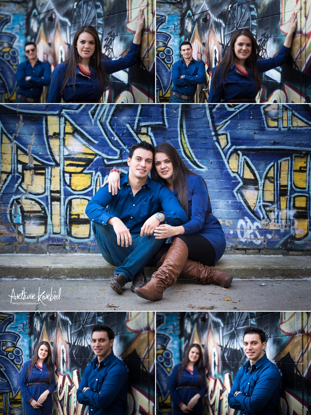 Arthur Korbiel Photography - London Engagement Photographer - Downtown London - Maria & Jose_001.jpg