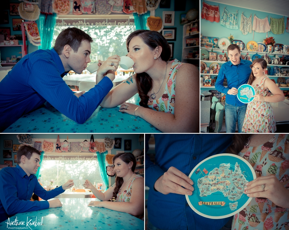 Arthur Korbiel Photography - London Engagement Wedding Photographer - Vintage - Bag Lady Variety - Gibbons Park_006.jpg