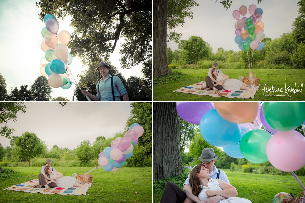 Arthur Korbiel Photography - London Engagement Wedding Photographer - Vintage - Bag Lady Variety - Gibbons Park_010.jpg