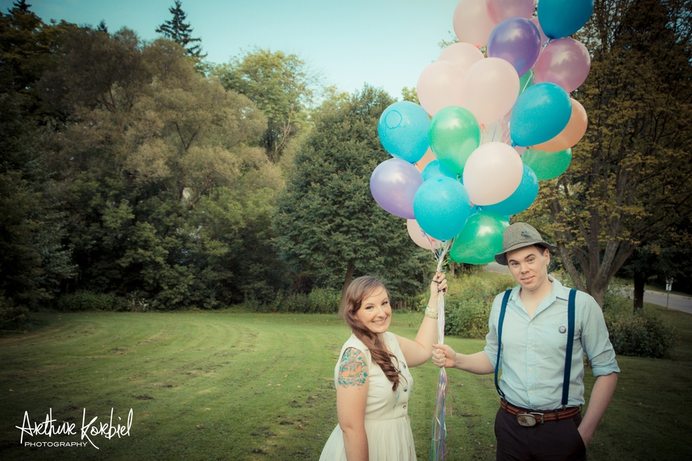 Arthur Korbiel Photography - London Engagement Wedding Photographer - Vintage - Bag Lady Variety - Gibbons Park_015.jpg