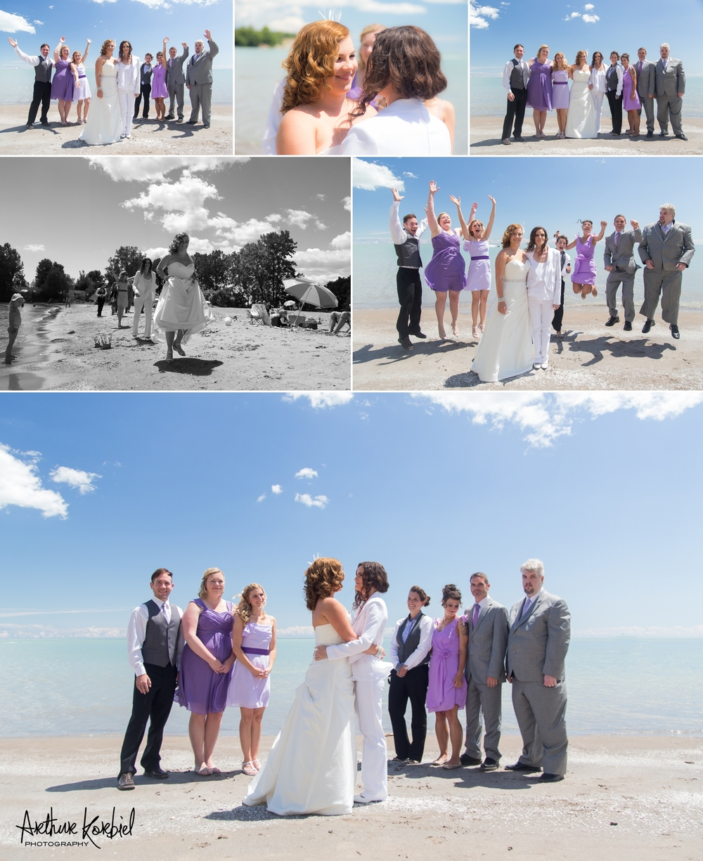 Same-Sex Wedding - Kettle Creek Golf Club - Port Stanley Beach - Arthur Korbiel Photography - London Wedding Photographer_004.jpg