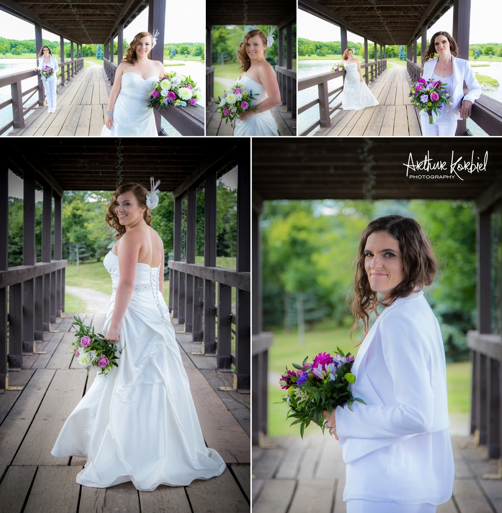 Same-Sex Wedding - Kettle Creek Golf Club - Port Stanley Beach - Arthur Korbiel Photography - London Wedding Photographer_013.jpg