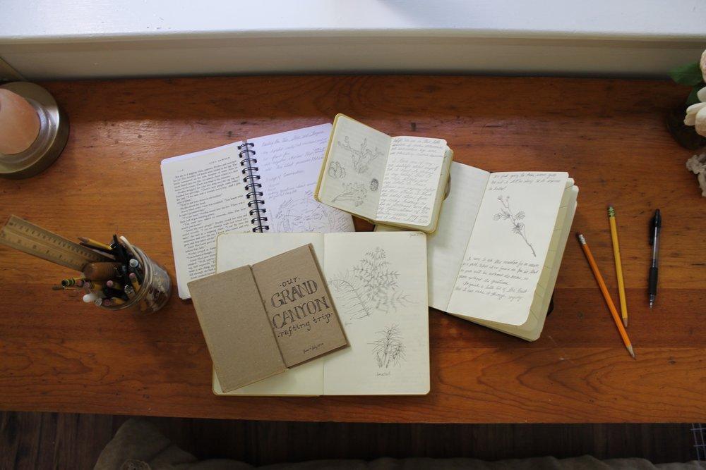 trinity's desk