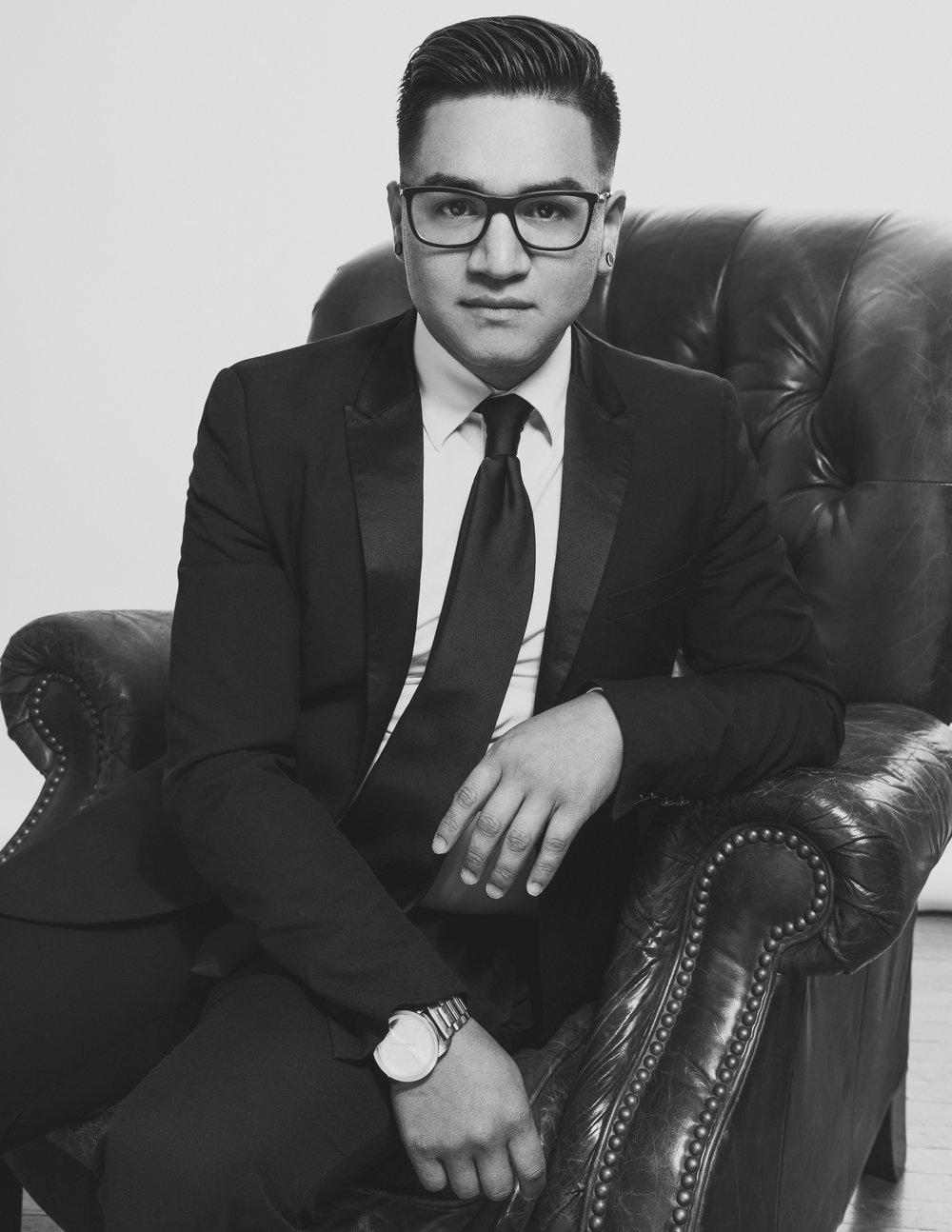 Omar Chair July 2016 BW.jpg