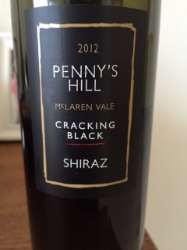 Penny's Hill Red Dot Shiraz 2012, McLaren Vale, Australia