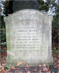 james busby australia headstone