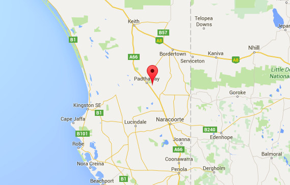 Padthaway Wine Region, South Australia map