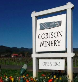Corison winery, St. Helena, Napa Valley